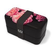 Ланч-бокс mb original flower mood black, Monbento