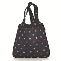 Сумка складная mini maxi shopper dots blue, Reisenthel