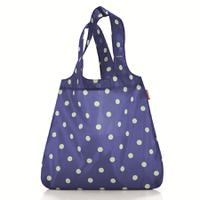 Сумка складная mini maxi shopper dots navy, Reisenthel