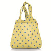 Сумка складная mini maxi shopper dots yellow, Reisenthel